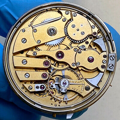 £3556.80 • Buy HIGH GRADE MINUTE REPEATER POSSIBLE PATEK PHILIPPE POCKET WATCH MOVEMENT 41mm