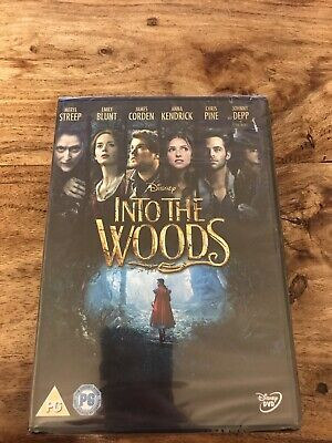 £3.49 • Buy Into The Woods Dvd New In Cellophane