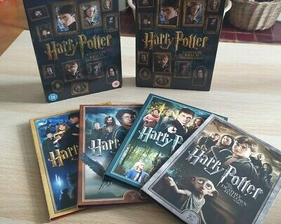$ CDN27.45 • Buy Harry Potter DVD 8 Film Collection Box Set With Embossed Cover Fantasy Complete