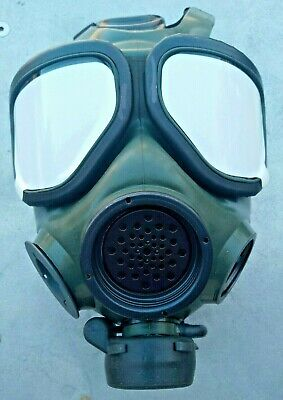 $299.99 • Buy FR-M40 Military Issue Gas Mask/Respirator 40MM NATO New Sealed Size Medium