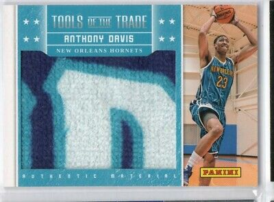 AU183.08 • Buy Anthony Davis 2012 Panini Black Friday Tools Of The Trade Rookie Towel Patch