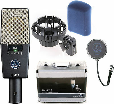 £637.43 • Buy Like N E W AKG C414XLS Condenser Mic Auth Dealer - Opened Box Never Used!