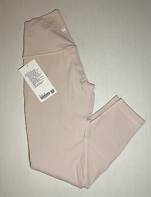 """$ CDN30.45 • Buy Lululemon Align Leggings 25"""" - Feather Pink - Size 6 - New With Tags"""