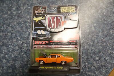 $ CDN12.13 • Buy M2 Machines Muscle-Cars 1969 Plymouth Road Runner 1/64 Scale.   NEW.