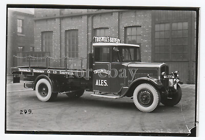 £2 • Buy Truswell's Brewery Ales Sheffield Thornycroft Lorry 1933.  Modern Photo Print.