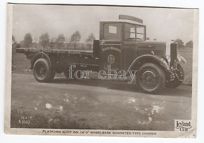 £4 • Buy Leyland Cub Official Photo Silsden Dyes Lorry. Original Trimmed NOT Recent Copy.