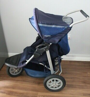 £20 • Buy Mothercare Urban Detour 3 Wheeler Running Pushchair In Blue With Loads Of Extras