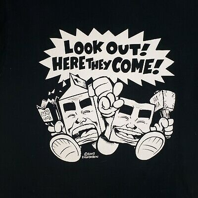 $54.50 • Buy Milk And Cheese SHIRT Evan Dorkin ART Look Out Med 1993 Comic Slave Labor RARE