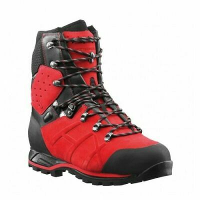 £225 • Buy Haix Protector Ultra Class 2 Red Chainsaw Boots New Size 11 UK / 46 EU