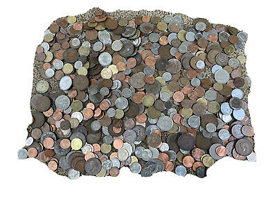£1 • Buy 3kg Mixed Unsorted World/uk Foreign Bulk Coins 3kg