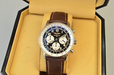$ CDN4727.02 • Buy Vintage Breitling Navitimer 92 Chronograph 38mm A30022 - Box & Papers