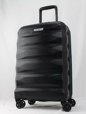 """View Details SAMSONITE SPIN TECH 4.0 21"""" EXPANDABLE HARDSIDE SPINNER CARRY ON SUITCASE BLACK • 103.55$"""