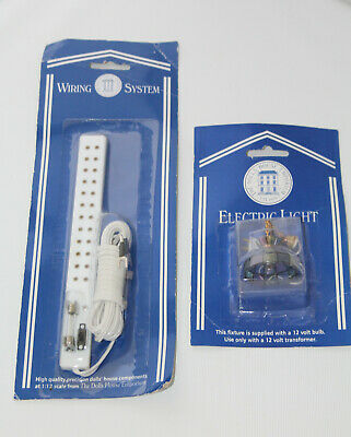 £8 • Buy Dolls House Emporium 7194 Wiring System And  A 7400 Hanging Tiffany Light