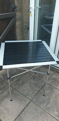 £15 • Buy Aluminum Folding Camping Table, Portable Collapsible Lightweight 70cm Square