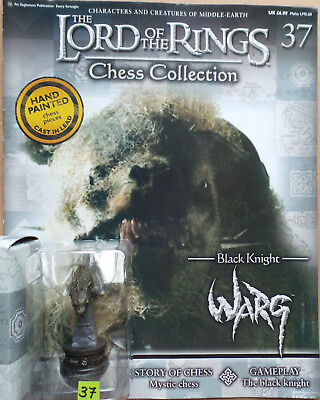 £11.75 • Buy LORD OF THE RINGS Chess Collection Set 2 #37: 'WARG', Eaglemoss, + Magazine