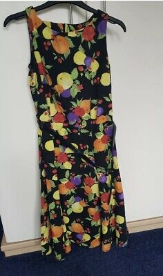 £3.99 • Buy TK Max Clements Ribeiro 'Melons' Dress Size L Fits A UK 12