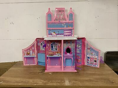£27.30 • Buy Barbie Mariposa Butterfly Folding Carry Doll House / Castle Toy 2012 PORTABLE