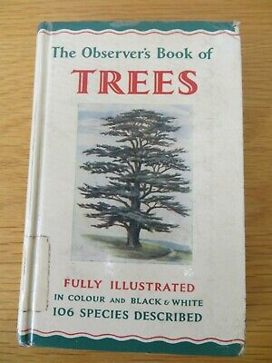 £4.50 • Buy The Observer's Book Of Trees - 1966