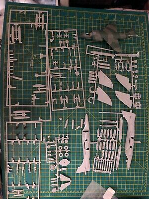 £8.99 • Buy Airfix Hasegawa 1:72 Harrier Gr 1 And Gr 3 Job Lot Spares Repairs Model Kit
