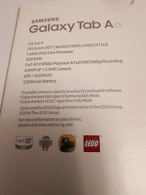 £41 • Buy Samsung Galaxy Tab A6 / 10.1 Inch (2018) Tablet. Never Used.  As Delivered