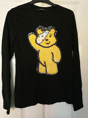 £5 • Buy George Pudsey Bear 2 Way Sequined (Children In Need) T-Shirt, 13-14 Years!
