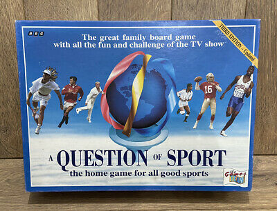 £74.99 • Buy A Question Of Sport Board Game -with Michael Jordan Card 1994 (3 PACKS SEALED)