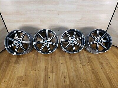 $2899.95 • Buy ✅OEM BMW F06 F13 M6 Sport Wheels R20  9.5J 10.5J M Double Spoke 601 COMPETITION