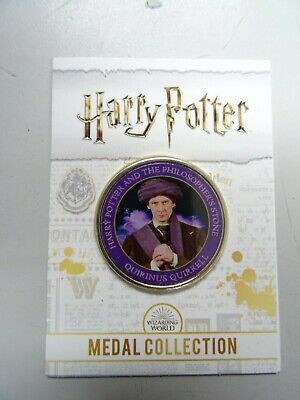 $ CDN10.28 • Buy Quirinus Quirrell - Philosopher's Stone Edition - Harry Potter Medal Collection