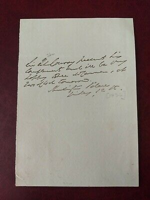 £104.99 • Buy Sir John Conroy - 1835 Signed Letter - Comptroller For Queen Victoria & Mother