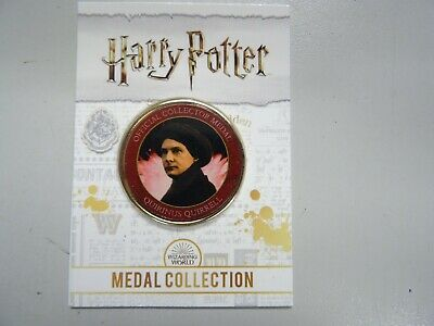 $ CDN10.28 • Buy Quirinus Quirrell -Harry Potter Medal Collection