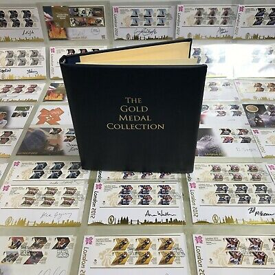 £99.99 • Buy London 2012 Gold Medal Olympic Winners Collection Signed 1st Day Covers 113518
