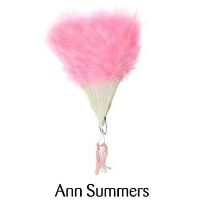 £3.49 • Buy ANN SUMMERS Large Hand Vintage Real Feather Fan Burlesque Fancy Dress