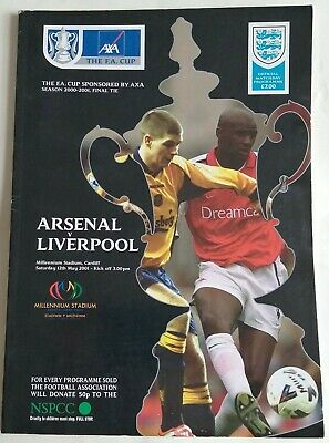 £4.99 • Buy Arsenal V Liverpool FA Cup Final 2001