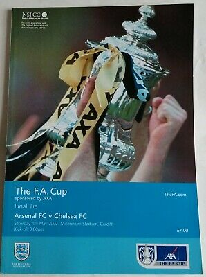 £4.99 • Buy Arsenal V Chelsea FA Cup Final 2002