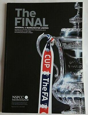 £4.99 • Buy Arsenal V Manchester United FA Cup Final 2005