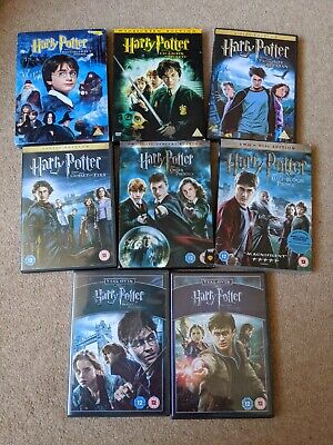 $ CDN18.86 • Buy Harry Potter Complete 8 DVD Set Collection