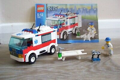 £5 • Buy Lego City 7890 Ambulance. 100% Complete With Instructions