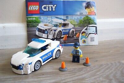 £2.50 • Buy LEGO City Police Patrol Car (60239) 100% Complete With Instructions