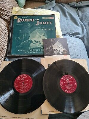 £25 • Buy Romeo And Juliet Berlioz,Boston Symphony Orchestra RCA Red Seal ML 6011 2x...