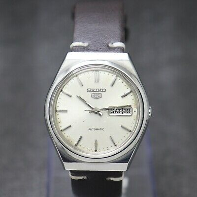 $ CDN30.44 • Buy Authentic Vintage Seiko 5 Automatic Movement 6309 Japan Made Men's Watch.