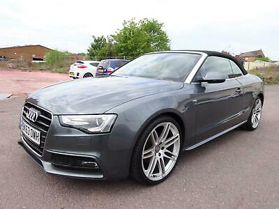 £6450 • Buy 2013 63 Reg Audi A5 S Line Special Edition 2.0tdi Convertible Damaged Salvage