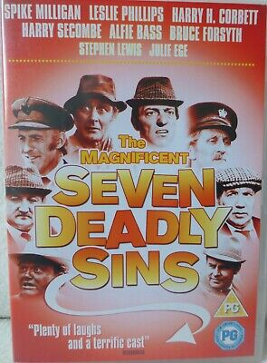 £5.99 • Buy The Magnificent Seven Deadly Sins DVD Spike Milligan Harry Secombe Bruce Forsyth