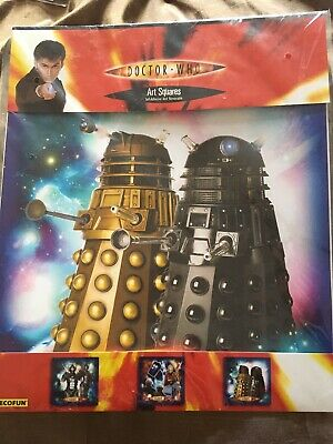 £10 • Buy Dr Who Art Squares Removable Stickers BNIP New