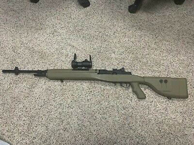 $175 • Buy G & P M14 SOCOM-16 With Red Dot Airsoft AEG Full Metal Never Used