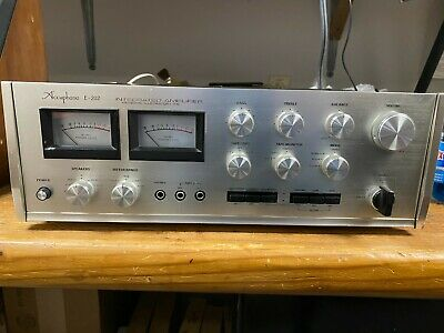 £851.82 • Buy Accuphase E-202 Integrated Amplifier With Meters - Recapped