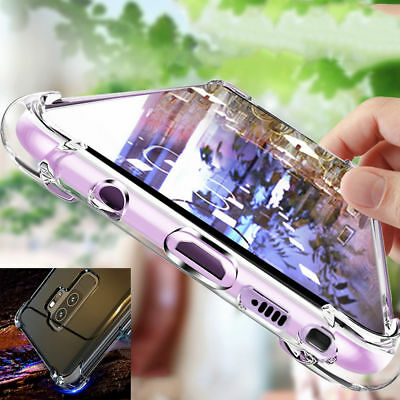 $ CDN11.57 • Buy Clear Silicone Soft TPU Case Cover For Samsung Galaxy S9 S8 A9 A6 J8 Plus Note 9