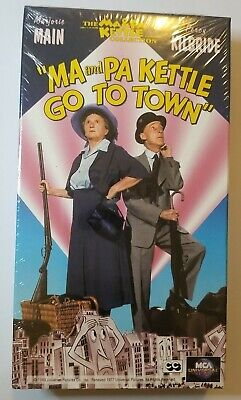 $5 • Buy Ma And Pa Kettle Go To Town (VHS, 1994) NEW SEALED Marjorie Main Percy Kilbride
