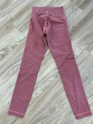 $ CDN37.34 • Buy LULULEMON Wunder Under Luxtreme Wee Are From Space Rust Size 4