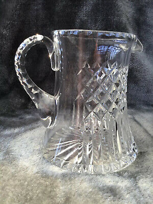 £2.95 • Buy Stunning Vintage Heavy 1kg Cut Crystal Glass Jug Perfect For Pimms!