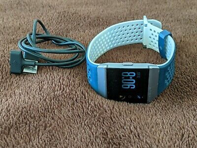 AU5 • Buy Fitbit Ionic Smart Watch Fitness Activity Tracker Charcoal Grey Silver Large